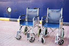 αναπηρικές καρέκλες Στοκ Εικόνα
