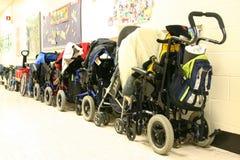 αναπηρικές καρέκλες Στοκ φωτογραφίες με δικαίωμα ελεύθερης χρήσης