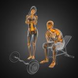αναπηρική καρέκλα ατόμων Στοκ φωτογραφία με δικαίωμα ελεύθερης χρήσης