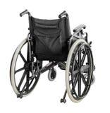 Αναπηρική καρέκλα που απομονώνεται στο άσπρο υπόβαθρο με το ψαλίδισμα της πορείας στοκ εικόνα με δικαίωμα ελεύθερης χρήσης