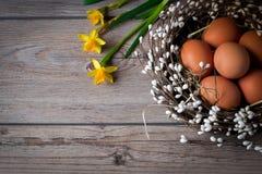 Αναπνοή της άνοιξη Εορτασμός για Πάσχα στην παραδοσιακή διακόσμηση Στοκ φωτογραφία με δικαίωμα ελεύθερης χρήσης