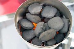 Αναπτήρας άνθρακα Στοκ φωτογραφίες με δικαίωμα ελεύθερης χρήσης