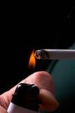 αναπτήρας τσιγάρων Στοκ Εικόνες