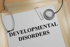 Αναπτυξιακές αναταραχές - ιατρική έννοια απεικόνιση αποθεμάτων