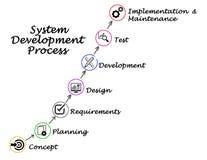 Αναπτυξιακή διαδικασία συστημάτων Στοκ Φωτογραφίες