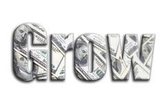 αναπτύξτε Η επιγραφή έχει μια σύσταση της φωτογραφίας, η οποία απεικονίζει πολλούς λογαριασμούς αμερικανικών δολαρίων ελεύθερη απεικόνιση δικαιώματος