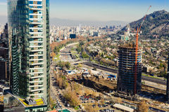 Αναπτύσσοντας πόλη στοκ φωτογραφία με δικαίωμα ελεύθερης χρήσης