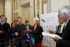 Αναπληρωτής πρωθυπουργός της Ρωσικής Ομοσπονδίας Όλγα Golodets Στοκ φωτογραφία με δικαίωμα ελεύθερης χρήσης