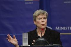 Αναπληρωτής του ΝΑΤΟ Γενικός Γραμματέας Rose Gottemoeller Στοκ Φωτογραφίες