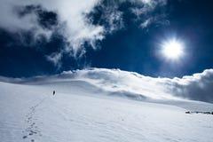 αναρρίχηση στην κορυφή Στοκ φωτογραφία με δικαίωμα ελεύθερης χρήσης