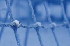 Αναρρίχηση σχοινιών καθαρή Καθαρό σχέδιο στοκ εικόνα
