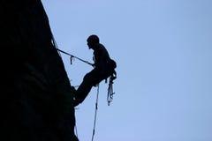αναρρίχηση του βράχου Στοκ Φωτογραφίες