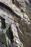 αναρρίχηση του βράχου Στοκ Εικόνες