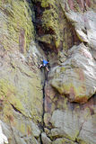 αναρρίχηση του βράχου Στοκ Φωτογραφία