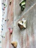 αναρρίχηση του τοίχου βράχου Στοκ φωτογραφίες με δικαίωμα ελεύθερης χρήσης