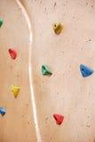 αναρρίχηση του τοίχου βράχου Στοκ Εικόνες