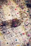 αναρρίχηση του τοίχου βράχου Στοκ εικόνα με δικαίωμα ελεύθερης χρήσης