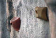 αναρρίχηση του τοίχου Στοκ Εικόνα