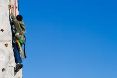 αναρρίχηση του τοίχου Στοκ φωτογραφίες με δικαίωμα ελεύθερης χρήσης