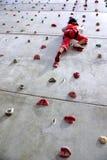 αναρρίχηση του τοίχου Στοκ Εικόνες