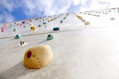 αναρρίχηση του τοίχου Στοκ Φωτογραφίες