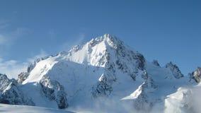 αναρρίχηση των βουνών Στοκ Εικόνες