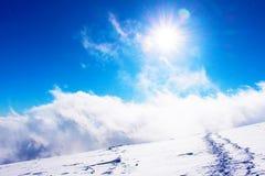 Αναρριχηθείτε στα σύννεφα Στοκ εικόνα με δικαίωμα ελεύθερης χρήσης
