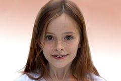 Αναρωμένος κορίτσι Στοκ Εικόνες