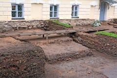 Ανασκαφές Archeological Στοκ φωτογραφία με δικαίωμα ελεύθερης χρήσης