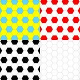 Ανασκοπήσεις με hexagons Στοκ εικόνες με δικαίωμα ελεύθερης χρήσης
