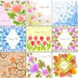 ανασκοπήσεις floral Στοκ Φωτογραφία