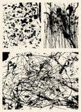 ανασκοπήσεις splatter διανυσματική απεικόνιση