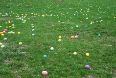 ανασκόπησης αγοριών χαριτωμένο Πάσχας αυγών πράσινο κρυμμένο κυνήγι χλόης αυγών φρέσκο που απομονώνεται έρευνα του λευκού Στοκ φωτογραφία με δικαίωμα ελεύθερης χρήσης