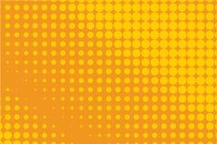ανασκόπησης ημίτονο απεικόνισης διάνυσμα κειμένων λογότυπων διαστημικό Κωμικό διαστιγμένο σχέδιο Ζωηρόχρωμη orange-yellow διανυσμ Στοκ εικόνες με δικαίωμα ελεύθερης χρήσης