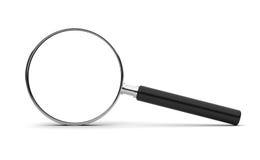 ανασκόπησης διανυσματικό λευκό ενίσχυσης γυαλιού απομονωμένο απεικόνιση Στοκ φωτογραφία με δικαίωμα ελεύθερης χρήσης