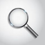 ανασκόπησης διανυσματικό λευκό ενίσχυσης γυαλιού απομονωμένο απεικόνιση Στοκ Φωτογραφίες