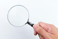 ανασκόπησης διανυσματικό λευκό ενίσχυσης γυαλιού απομονωμένο απεικόνιση Στοκ Εικόνα