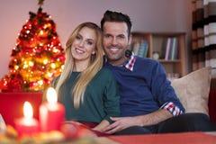 ανασκόπησης κεριών Χριστουγέννων νέο s σύνθεσης σκοτεινό έτος παιχνιδιών βραδιού Στοκ Εικόνες