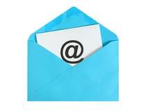 ανασκόπησης μαύρο κείμενο τρία αντανάκλασης ηλεκτρονικού ταχυδρομείου έννοιας διαστατικό Στοκ εικόνα με δικαίωμα ελεύθερης χρήσης