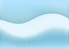 ανασκόπησης μπλε ημίτονο απεικόνισης διάνυσμα κειμένων λογότυπων διαστημικό Στοκ φωτογραφίες με δικαίωμα ελεύθερης χρήσης
