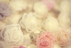 ανασκόπησης ξηρός floral βρώμικος λεκιασμένος φυτό τρύγος εγγράφου φύλλων παλαιός Στοκ Εικόνα