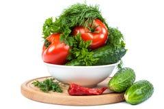 ανασκόπησης στενό λευκό λαχανικών εστίασης φρέσκο εκλεκτικό επάνω Στοκ φωτογραφία με δικαίωμα ελεύθερης χρήσης