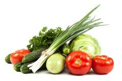 ανασκόπησης στενό λευκό λαχανικών εστίασης φρέσκο εκλεκτικό επάνω Στοκ εικόνες με δικαίωμα ελεύθερης χρήσης