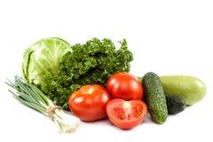 ανασκόπησης στενό λευκό λαχανικών εστίασης φρέσκο εκλεκτικό επάνω Στοκ φωτογραφίες με δικαίωμα ελεύθερης χρήσης