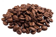 ανασκόπησης στενό λευκό φωτογραφιών καφέ απομονωμένο σιτάρια επάνω Σωρός των σιταριών, απομονωμένο άσπρο υπόβαθρο Στοκ φωτογραφία με δικαίωμα ελεύθερης χρήσης