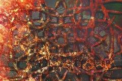 ανασκόπησης συγκεκριμένος τοίχος σύστασης επιφάνειας grunge παλαιός λεκιασμένος ασβεστοκονίαμα απεικόνιση αποθεμάτων