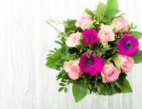 ανασκόπησης σχεδίου floral λουλουδιών τρύγος ύφους προτύπων άνευ ραφής Στοκ Φωτογραφία