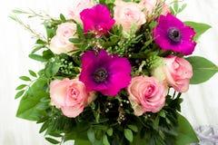 ανασκόπησης σχεδίου floral λουλουδιών τρύγος ύφους προτύπων άνευ ραφής Στοκ Εικόνες