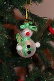 ανασκόπησης Χριστουγέννων hoiday σύσταση χιονανθρώπων προτύπων άνευ ραφής στοκ φωτογραφίες