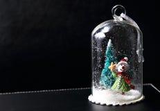 ανασκόπησης Χριστουγέννων hoiday σύσταση χιονανθρώπων προτύπων άνευ ραφής Στοκ φωτογραφίες με δικαίωμα ελεύθερης χρήσης